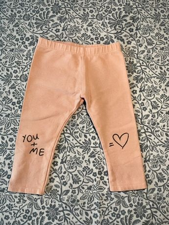 Spodnie Zara 12/18 różowe dziewczynka