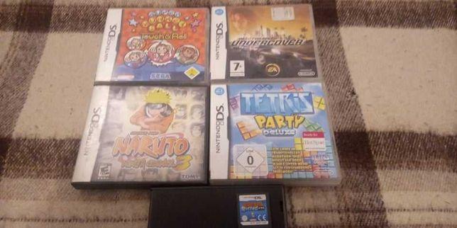Zestaw 5 gier na nientendo DS
