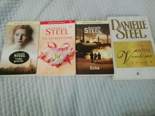 Danielle Steel, Cudze grzechy, Echa, To co bezcenne, Hotel Vendome