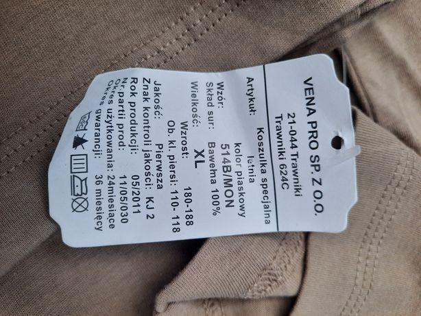 Koszulka specjalna 514B piaskowa wojskowa roz xl