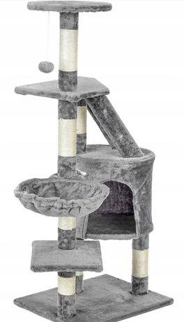 Drapak dla kota 79 x 117,5 cm szary. Wysyłka