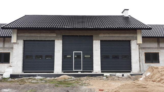 Brama segmentowa garażowa przemysłowa bramy ciepłe garażowe Tarnogród
