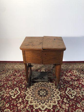 Maszyna do szycia Westa z unikatowym stolikiem prl vintage retro