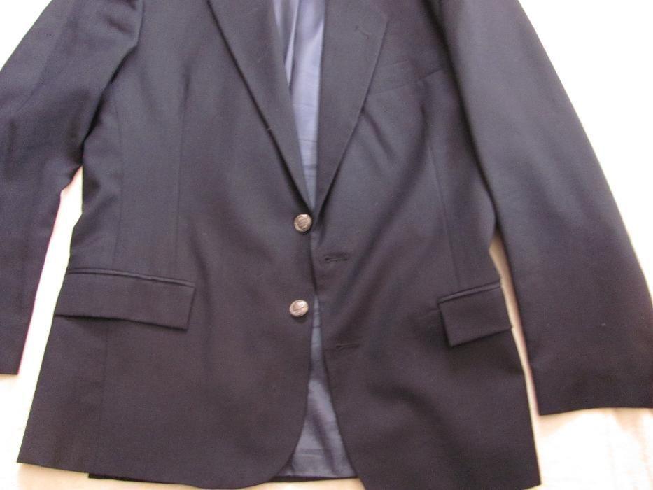 Чоловічий темно-синій піджак з Італії