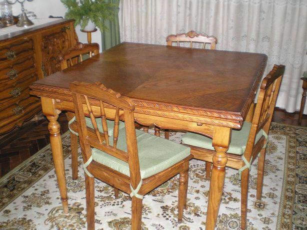 mobília de jantar