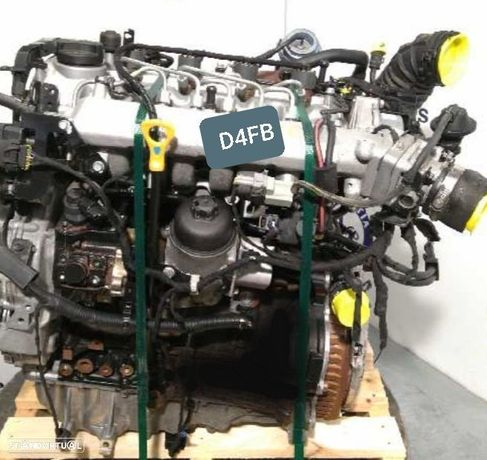 Motor kIA Carens Cerato Soul 1.6Crdi 116Cv Ref.D4FB