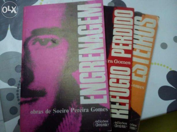 Conjunto 3 Livros de 1975 - Edições Avante