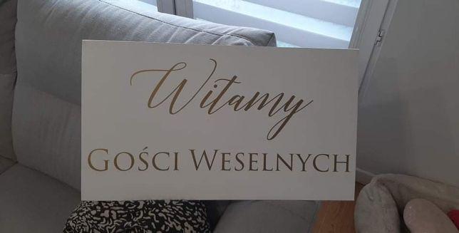 Sprzedam tablice ślubna