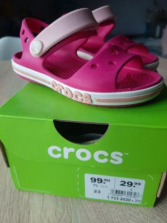 Sandałki Crocs rozmiar 23