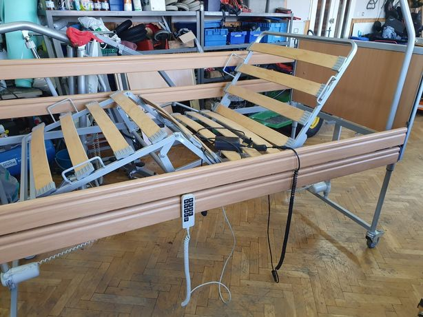 Łóżko inwalidzkie rehabilitacyjne elektryczne