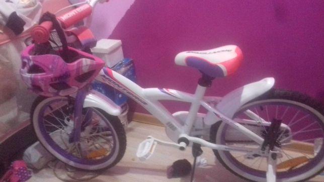 Rower nowy ani razu nie używany.