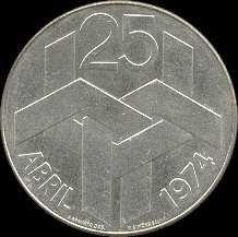 Moeda do 25 de Abril de 1974