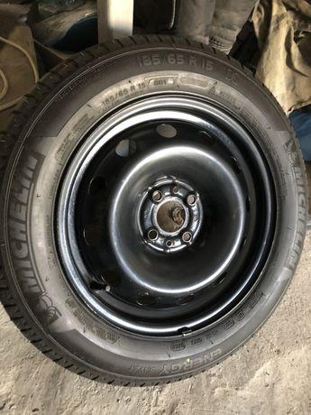 185/65/15 Запаска нулевая Мишелинка пара дисков BMW