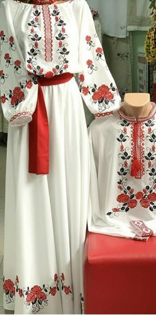 Вишивка#вишита сукня#