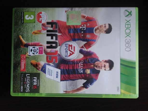 Fifa 15 i FIFA 13 xbox 360