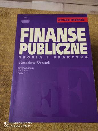 Finanse publiczne Stanisław Owsiak