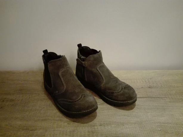 PRIMIGI Sztyblety, wysokie buty dla chłopca rozmiar 34 szare GORE-TEX