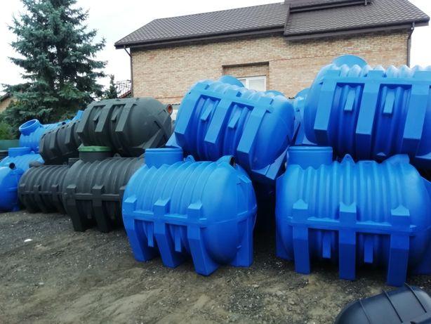 zbiornik osadnik gnilny 3000 litrów moja woda na deszczówkę, ścieki