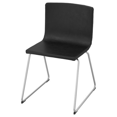 4 cadeiras em pele IKEA