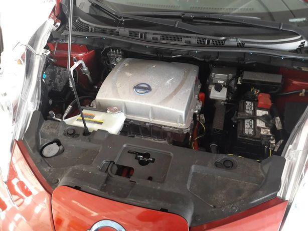 Nissan leaf  голова инвертор 6.6 кВт 2013- 2016г.