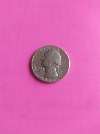 1965 liberty монети