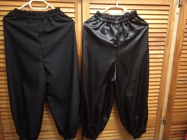шаровары черные (штаны к карнавальному костюму )
