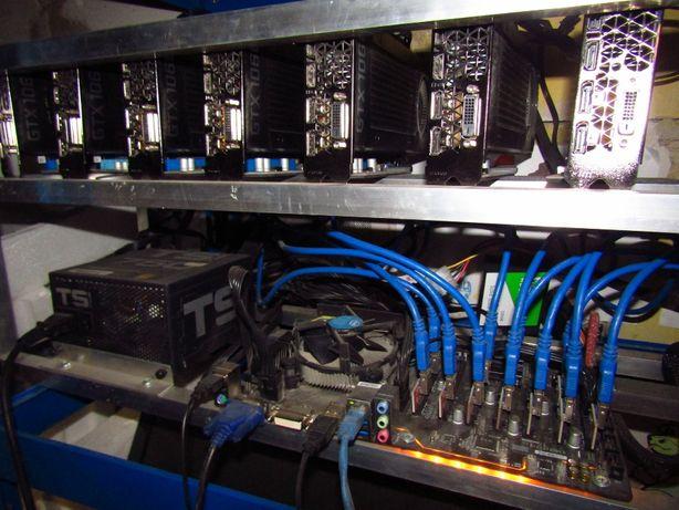 Koparka Kryptowalut 240MH 11xGTX 1060 6GB 2500 msc