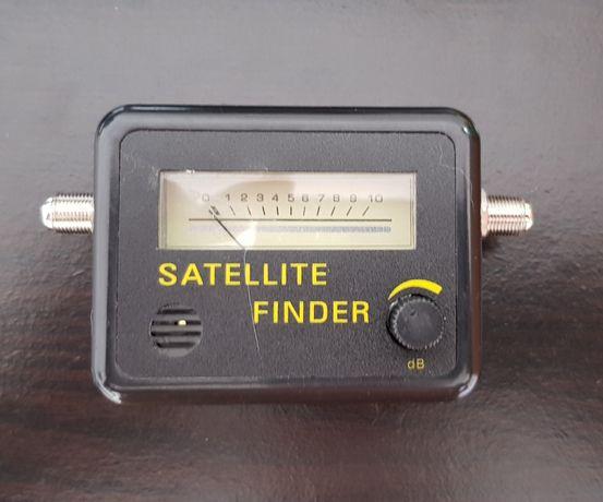Localizador de sinal satélite
