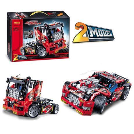 """Конструктор Decool 3360 """"Гоночный грузовик"""" Lego Technic 42041 Лего"""