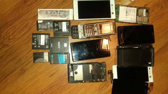 Części smartfony Xperia i inne