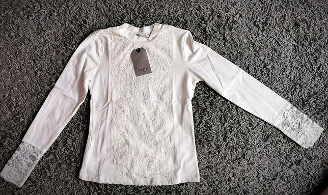 Nowa elegancka bluzka ecru