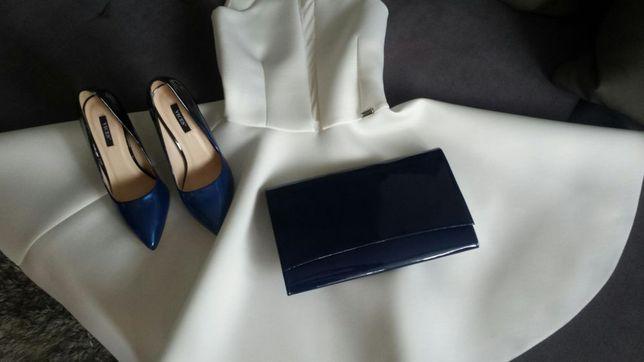 Sukienka ecru idealna na ślub cywilny