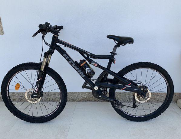 Bicicleta BTT SUSPENSÃO total