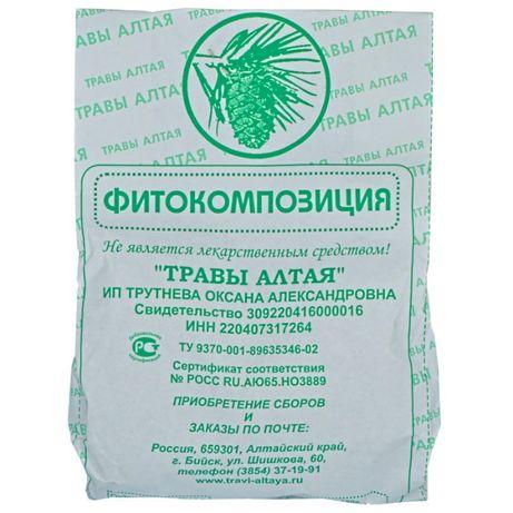 Zbiór ziołowy po chemioterapii Onkologia 150 gr Ałtaj