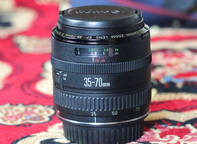 Canon EF продам штатный объектив
