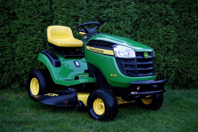 Traktorek kosiarka John Deere X125 Briggs & Stratton
