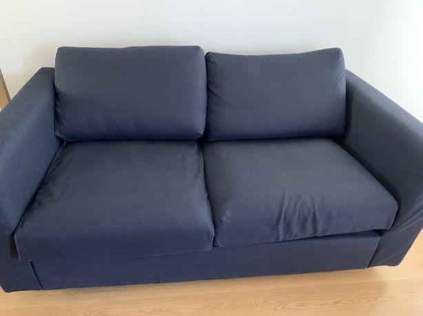 Sofá IKEA VIMLE 2 Lugares Azul