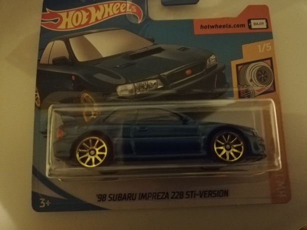 Subaru hotweels