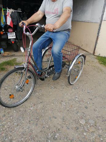 Rower inwalidzki trzy kołowy