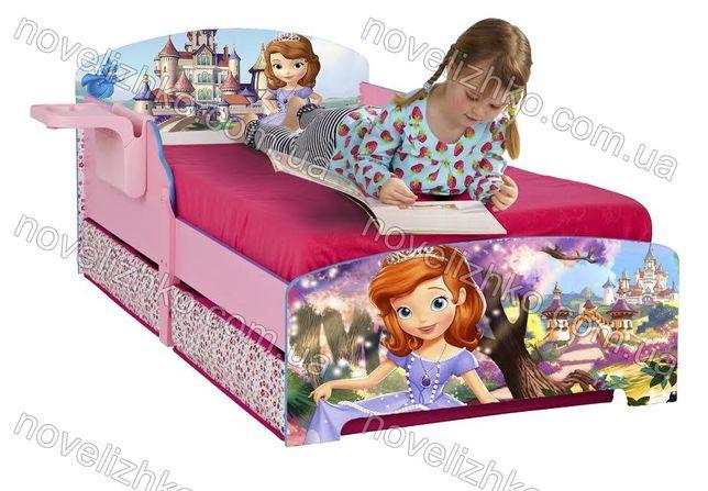 Дитячі ліжка для дівчаток / Кровать для девочки / Безкоштовна доставка