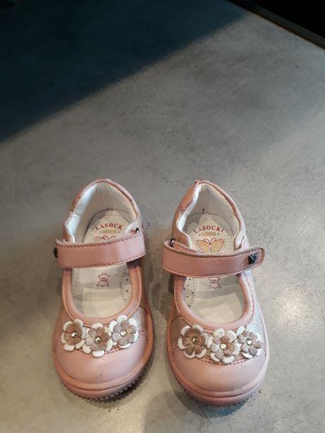 Skórzane buciki Lasocki r.21 dł.wkl. 13 cm NOWE