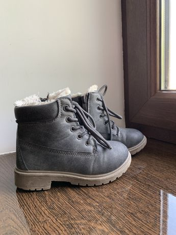 Теплые ботинки 16 см
