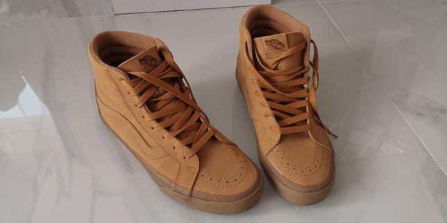 Buty męskie Vans rozmiar 41 beżowe, brązowe