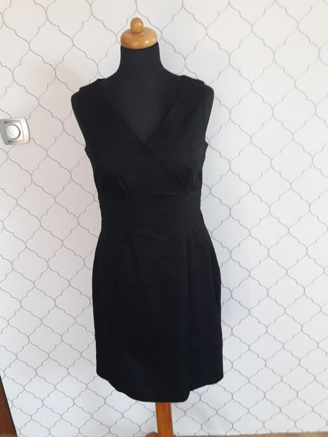 Mala czarna elegancka L