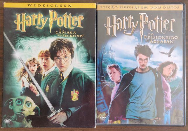 Harry Potter em 2 DVD duplos