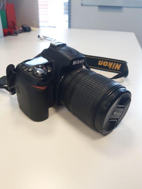 Nikon D90 + obiektyw