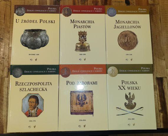 POLSKA Dzieje Cywilizacji i Narodu Wydawnictwo Świat Książki - NOWE
