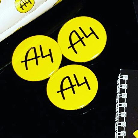 Значек Влад А4 значки Мерч Влад А4