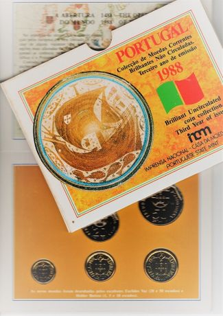 Carteira anual BNC 1988 como nova Aceito ofertas