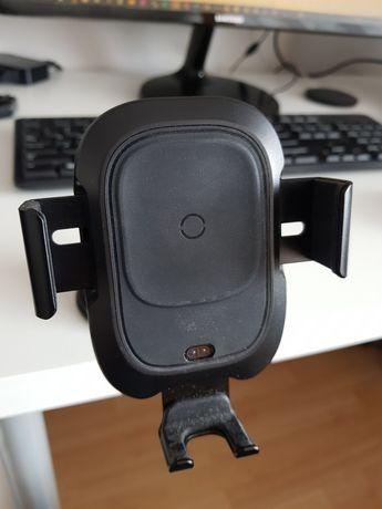 Baseus uchwyt samochodowy na smartfona z ładowaniem indukcyjnym